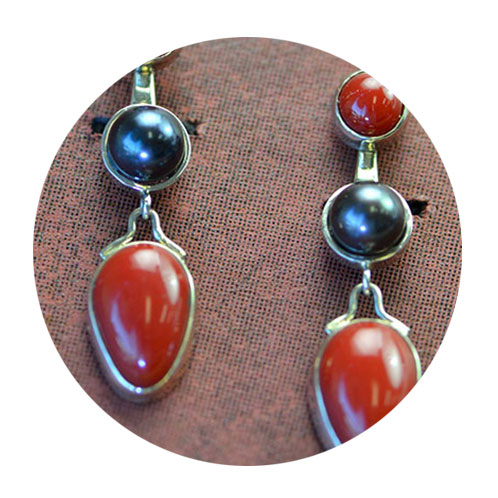 beautiful custom earrings hand crafted custom jewelry near Portland