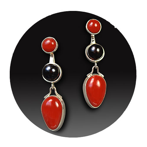 beautiful custom crafted earings hand crafted custom jewelry near Portland