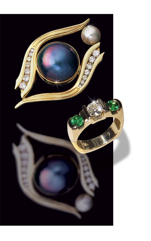 hand crafted custom jewelry near portland in troutdale